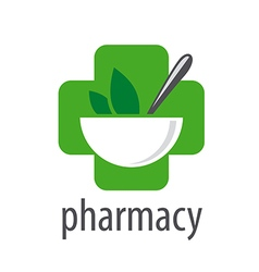 logo for pharmacies on a white background vector image