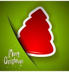 Elegant Classic Christmas flyer vector image vector image