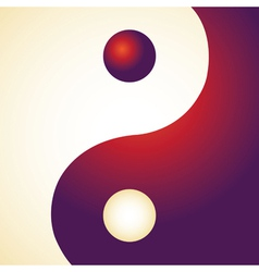 Ying Yang Patterns vector image