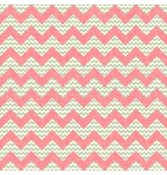 Zigzag pattern seamless chevron background vector