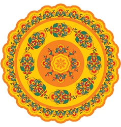 Oriental - indian - pattern rosette vector