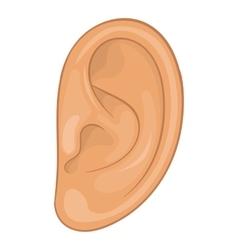 Ear icon cartoon style vector image