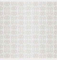 seamless wallpaper retro pattern vector image vector image