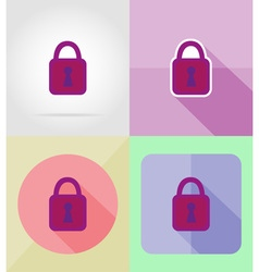 Service flat icons 11 vector
