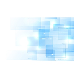 Blue modern background vector