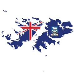 Falkland Islands Flag vector image vector image