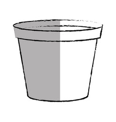 paint pot isolated icon vector image