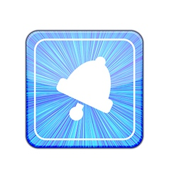 version Bell icon Eps 10 vector image vector image