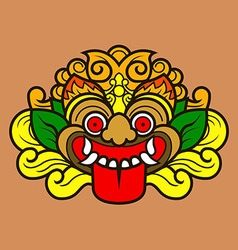 Kalamakara Ornament Color vector image