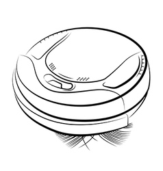 Robotic vacuum cleaner vector