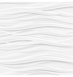 Absract grey waves background vector image