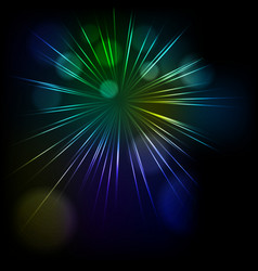 Abstract star burst background vector image