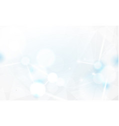 abstract white bokeh and lines beam background vector image