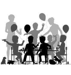 boys party vector image