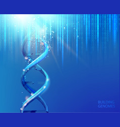 Scince of human genome vector