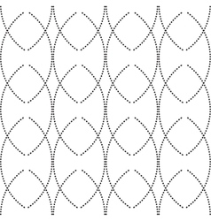 seamless monochrome abstract patterns vector image vector image