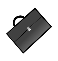 Icon briefcase vector
