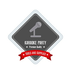 Karaoke label vector