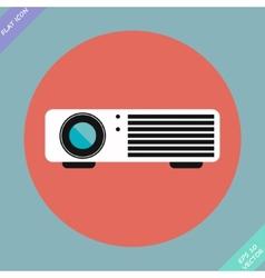 Cinema projector - vector