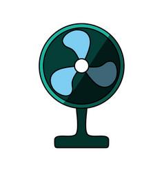 Floor fan symbol vector