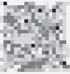 abstract geometric pixelated background vector image vector image