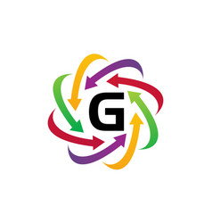 Online marketing business distribution g vector