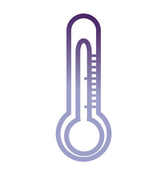 Thermometer icon image vector