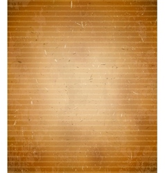 Rugged cardboard background vector image