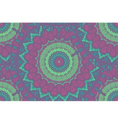 Mandala seamless pattern vector