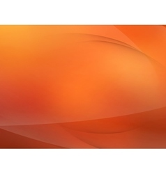 Abstract orange mooth twist light lines EPS 10 vector image vector image