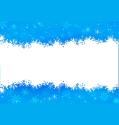 Christmas snowflake and starlight abstract vector
