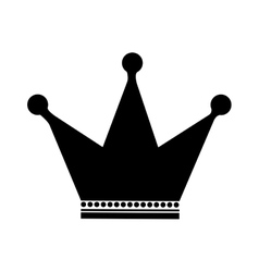 Crown emblem icon image vector