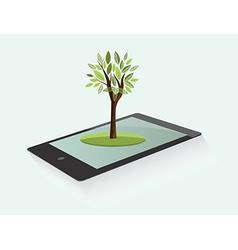 Ecological design element vector