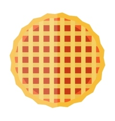 Waffle cakes vector