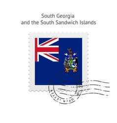 South georgia and the south sandwich islands flag vector