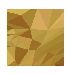 Goldenrod yellow abstract low polygon background vector