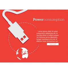 Power consumption vector