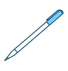 Office pen ballpoint vector