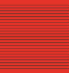 Red louvers background window blinds template vector