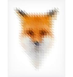 Triangle fox vector