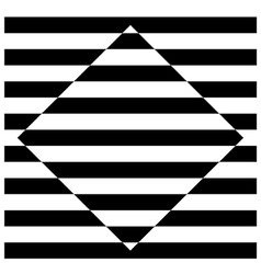 Diamond stripes vector