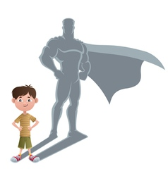 Boy superhero concept 2 vector
