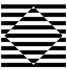 Diamond stripes vector image