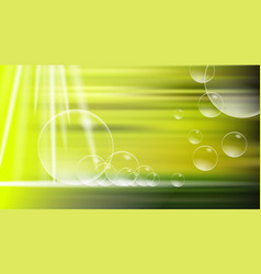 digital yellow and green abstract vector image vector image