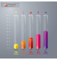 Infographics design vector image vector image