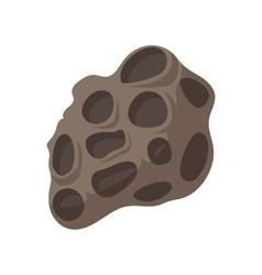 Meteorite cartoon icon vector