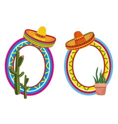mexican style vector image