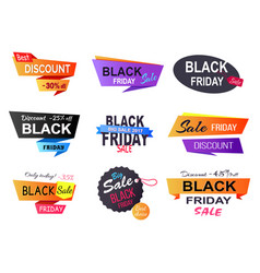 only today -35 black friday vector image vector image