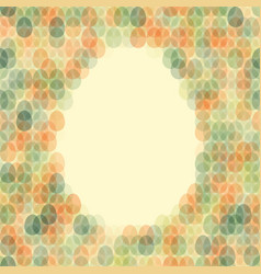 Seamless pattern easter card with space for text vector