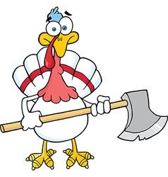 Thanksgiving cartoon vector image vector image
